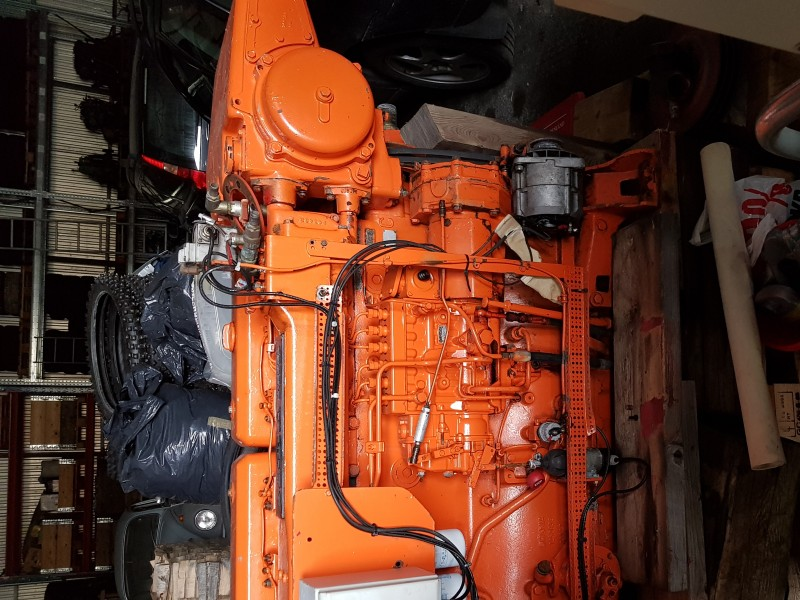 Motor Marino Scania 280/300HP